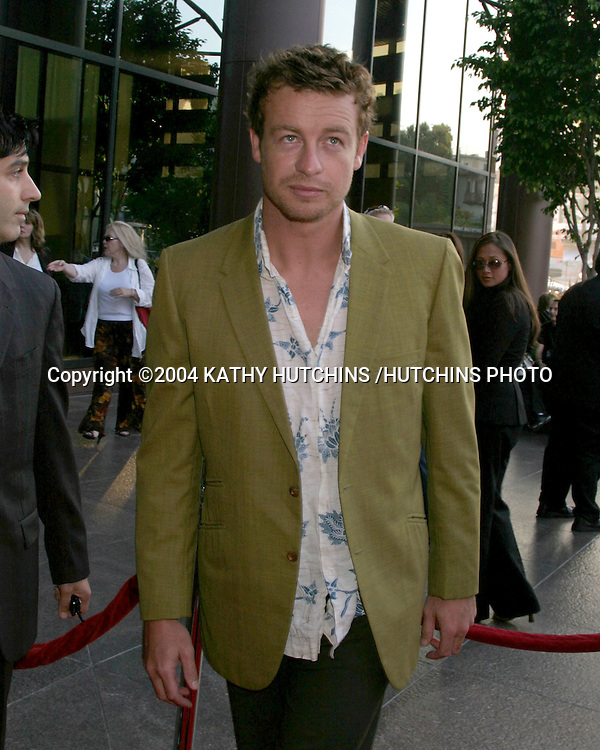 """©2004 KATHY HUTCHINS /HUTCHINS PHOTO.""""WE DON'T LIVE HERE ANYMORE"""" PREMIERE.LOS ANGELES, CA.AUG 5, 2004..SIMON BAKER"""