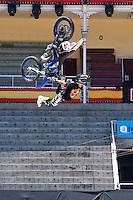 Training Red Bull X-Fighters 2012. Madrid. July 19, 2012. (ALTERPHOTOS/Ricky Blanco) /NortePhoto.com<br />  <br /> **CREDITO*OBLIGATORIO** *No*Venta*A*Terceros*<br /> *No*Sale*So*third* ***No*Se*Permite*Hacer Archivo***No*Sale*So*third*©Imagenes*con derechos*de*autor©todos*reservados*.