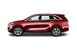 Car driver side profile view of a 2016 KIA Sorento SXT 5 Door SUV