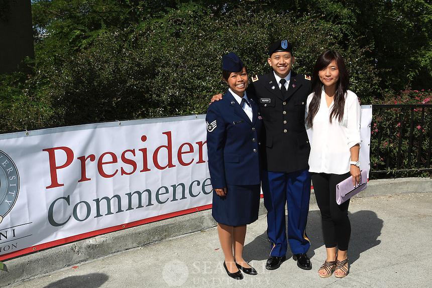 06152013- President's Commencement Brunch 2013