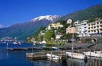 CHE, Schweiz, Tessin, Ascona am Lago Maggiore | CHE, Switzerland, Ticino, Ascona at Lago Maggiore