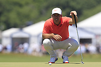 Paul Casey (ENG) on the 8th green during Saturday's Round 3 of the 118th U.S. Open Championship 2018, held at Shinnecock Hills Club, Southampton, New Jersey, USA. 16th June 2018.<br /> Picture: Eoin Clarke | Golffile<br /> <br /> <br /> All photos usage must carry mandatory copyright credit (&copy; Golffile | Eoin Clarke)