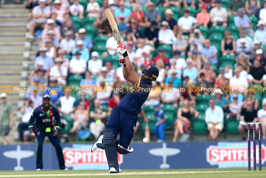 Tamim Iqbal hits out for Essex during Kent Spitfires vs Essex Eagles, NatWest T20 Blast Cricket at The County Ground on 9th July 2017
