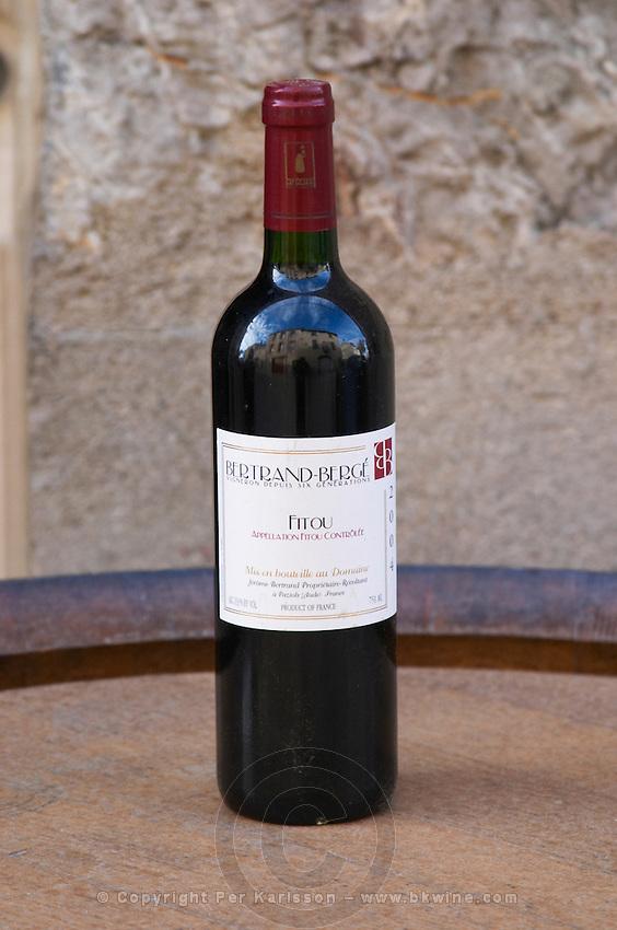 Bertrand Berge Fitou 2004 Domaine Bertrand-Berge In Paziols. Fitou. Languedoc. France. Europe. Bottle.