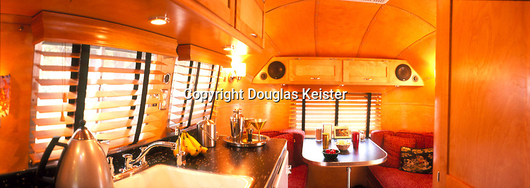 1961 Airstream Globe Trotter restored by Craig Dorsey