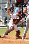 UMass Corey Volpicelli #7 during a game vs Indiana Hoosiers at Lake Myrtle Main Field in Auburndale, Florida;  March 16, 2011.  Indiana defeated UMass 11-10.  Photo By Mike Janes/Four Seam Images