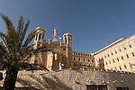 Israel, Jerusalem, The Notre Dame of Jerusalem center built in the years 1884-1904<br />