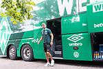 20.07.2019, Heinz Detmar Stadion, Lohne, Interwetten Cup 1.VfL Osnabrück vs SV Werder Bremen<br /> <br /> im Bild / picture shows <br /> Ankunft Werder bremen in Lohne<br /> <br /> Niclas Füllkrug / Fuellkrug (Neuzugang Werder Bremen #11)<br /> Foto © nordphoto / Kokenge