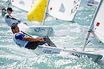 Cook IslandsLaser RadialMenHelmCOKJI1JoshuaLoane<br /> Day3, 2015 Youth Sailing World Championships,<br /> Langkawi, Malaysia