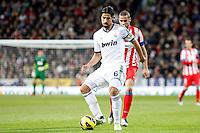 Sami Khedira and Mario Suarez during La Liga Match. December 01, 2012. (ALTERPHOTOS/Caro Marin)