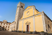 The Parish Church of St. Stephen (Sveti Stjepan) in the village of Motovun, Istria County, Croatia