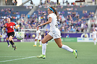 Orlando, FL - Saturday Sept. 24, 2016: Shea Groom during a regular season National Women's Soccer League (NWSL) match between the Orlando Pride and FC Kansas City at Camping World Stadium.
