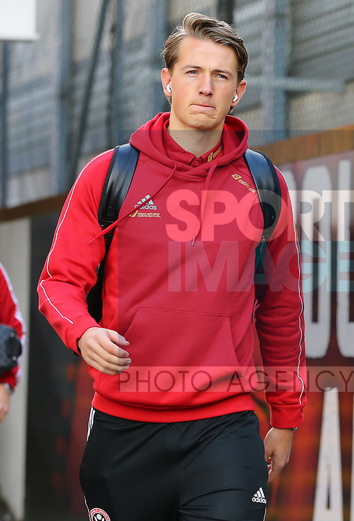 Sheffield United's Sander Berge arrives ahead of the Premier League match at Selhurst Park, London. Picture date: 1st February 2020. Picture credit should read: Paul Terry/Sportimage