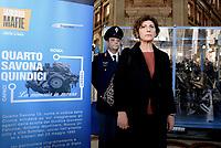 Esposizione automobile della scorta di Giovanni Falcone