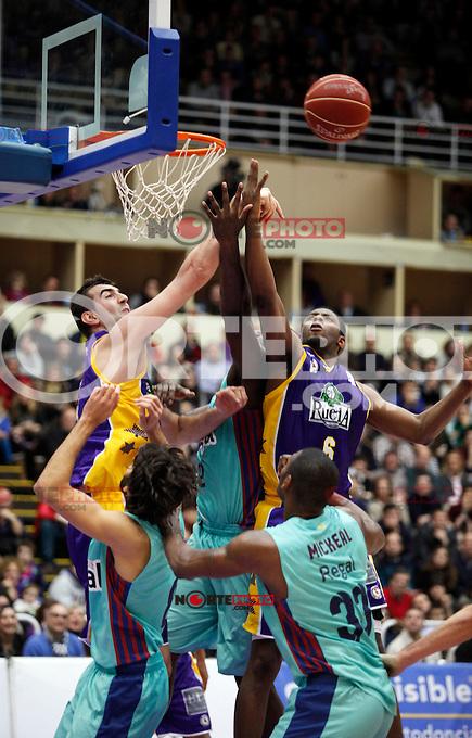 Patrick Ewing Jr. during Blancos de Rueda Valladolid V Barcelona ACB match. January 20, 2013..(ALTERPHOTOS/Victor Blanco) /NortePhoto