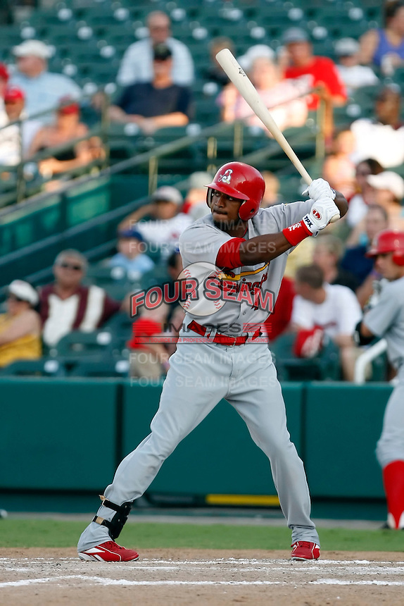 Daryl Jones - Springfield Cardinals.2009 Texas League All-Star game held at Dr. Pepper Ballpark, Frisco, TX - 07/01/2009. The game was won by the North Division, 2-1..Photo by:  Bill Mitchell/Four Seam Images