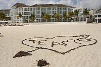 02.2012 Playa del Carmen (Mexico)<br /> <br /> Plage de Playa del Carmen.<br /> <br /> beach of Playa del Carmen