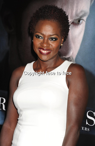 BEVERLY HILLS, CA- SEPTEMBER 12: Actress Viola Davis arrives at the 'Prisoners' - Los Angeles Premiere at the Academy of Motion Picture Arts and Sciences on September 12, 2013 in Beverly Hills, California.<br />