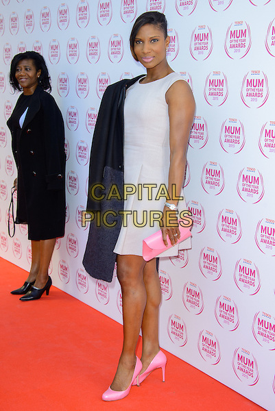 LONDON, ENGLAND - MARCH 01: Denise Lewis attends the Tesco Mum Of The Year Awards 2015 at the Savoy Hotel, on March 01, 2015 in London, England. <br /> CAP/JC<br /> &copy;JC/Capital Pictures