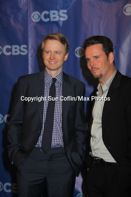 How I Met Your Mother David Hornsby & Kevin Dillon at the CBS Upfront 2011 on May 18, 2011 at Lincoln Center, New York City, New York. (Photo by Sue Coflin/Max Photos)