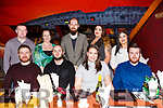 Friends enjoying night out in Restaurant Uno on Sunday night last. Seated l-r, David Scollard, Luke O&rsquo;Sullivan, Nora Coakley and Sean Fitzmaurice.<br /> Standing l-r, Sean Casey, Melanie Cremins, Con Kuzmin, Alison O&rsquo;Connor and Emer O&rsquo;Sullivan.
