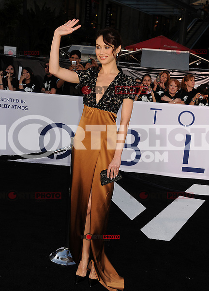 WWW.BLUESTAR-IMAGES.COM  Olga Kurylenko arrives at the 'Oblivion' - Los Angeles Premiere at Dolby Theatre on April 10, 2013 in Hollywood, California..Photo: BlueStar Images/OIC jbm1005  +44 (0)208 445 8588..