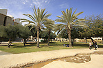 Israel, Negev. Kreitman Plaza at Ben Gurion University in Beersheba