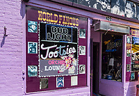 Live country music venue, Tootsies Orchid Lounge, Nashville, Tenessee, USA.