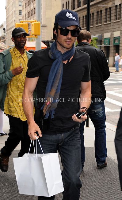 WWW.ACEPIXS.COM . . . . .  ....May 7 2012, New York City....Actor Ian Somerhalder walks in Soho on May 7 2012 in New York City....Please byline: CURTIS MEANS - ACE PICTURES.... *** ***..Ace Pictures, Inc:  ..Philip Vaughan (212) 243-8787 or (646) 769 0430..e-mail: info@acepixs.com..web: http://www.acepixs.com