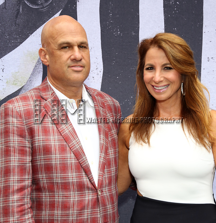 """Gary Brody and Jill Zarin attends the Broadway Opening Night Performance for """"Beetlejuice"""" at The Wintergarden on April 25, 2019  in New York City."""