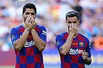 Presentation 1st team FC Barcelona 2019/2020.<br /> Luis Suarez & Philippe Coutinho.