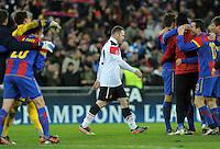 FUSSBALL   CHAMPIONS LEAGUE   SAISON 2011/2012     23.11.2011 FC Basel - Manchester United ABGANG ManU;  Wayne Rooney  enttaeuscht