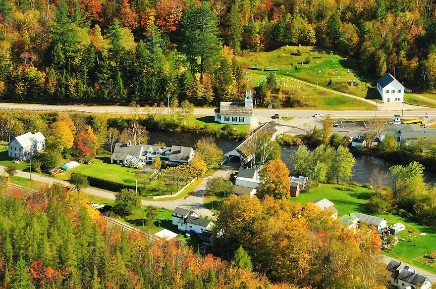 The tiny village of Stark, New Hampshire.