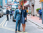 """Hong Kong, 2012-7-12: CROWN PRINCESS MARY AND CROWN PRINCE FREDERIK OF DENMARK.attend the the Danish Crown and Mikkeller's event at scandinavian restaurant FINDS..The Danish Royal Couple are on a Tour of Kong Kong.Mandatory Credit Photo: ©NEWSPIX INTERNATIONAL..**ALL FEES PAYABLE TO: """"NEWSPIX INTERNATIONAL""""**..IMMEDIATE CONFIRMATION OF USAGE REQUIRED:.Newspix International, 31 Chinnery Hill, Bishop's Stortford, ENGLAND CM23 3PS.Tel:+441279 324672  ; Fax: +441279656877.Mobile:  07775681153.e-mail: info@newspixinternational.co.uk"""