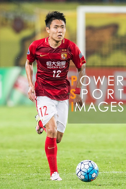 Wang Shangyuan of Guangzhou Evergrande FC in action during their AFC Champions League 2017 Match Day 1 Group G match between Guangzhou Evergrande FC (CHN) and Eastern SC (HKG) at the Tianhe Stadium on 22 February 2017 in Guangzhou, China. Photo by Victor Fraile / Power Sport Images