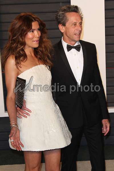 28 February 2016 - Beverly Hills, California - Veronica Smiley, Brian Grazer. 2016 Vanity Fair Oscar Party hosted by Graydon Carter following the 88th Academy Awards held at the Wallis Annenberg Center for the Performing Arts. Photo Credit: AdMedia