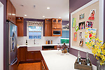 The Oganovitch's kitchen feature a new layout with new countertops, cabinets, backslpash and farmer sink, after transformation by DIY Network's Kitchen Crashers host and interior designer Alison Victoria and her crew, as seen on DIY Network's original series, Kitchen Crashers.