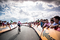 Tejay van Garderen (USA/EF Education First) in the race finale towards the finish (at almost 2000m alt.)<br /> <br /> Stage 5: L'Eliana to Observatorio Astrofísico de Javalambre (171km)<br /> La Vuelta 2019<br /> <br /> ©kramon