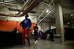 WICHITA, KS - MARCH 15: The University of Kansas takes on the University of Pennsylvania during the 2018 NCAA Men's Basketball Tournament held at Intrust Bank Arena on March 15, 2018 in Wichita, Kansas. (Photo by Evert Nelson/NCAA Photos via Getty Images)