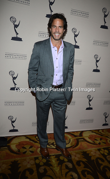 Shawn Christian attends the Academy Of Television Arts & Science Daytime Programming  Peer Group Celebration for the 40th Annual Daytime Emmy Awards Nominees party on June 13, 2013 at the Montage Beverly Hills in Beverly Hills, California.