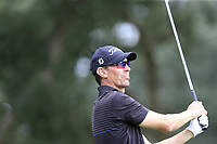 Jason Norris (AUS) tees off the 7th tee during Sunday's storm delayed Final Round 3 of the Andalucia Valderrama Masters 2018 hosted by the Sergio Foundation, held at Real Golf de Valderrama, Sotogrande, San Roque, Spain. 21st October 2018.<br /> Picture: Eoin Clarke | Golffile<br /> <br /> <br /> All photos usage must carry mandatory copyright credit (&copy; Golffile | Eoin Clarke)