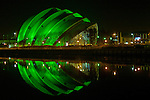 SECC joins the St. Patrick's Day celebrations by adopting the traditional green of Ireland.