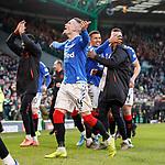 29.12.2019 Celtic v Rangers: Ryan Kent celebrates