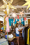 The Mercantile botique in Makawao Town, Maui where you can shop for contemporary men's and women's clothing.