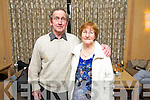 John and Rita O'Sullivan (Killerisk, Tralee) pictured at the Hats and Heels fundraiser event held in the Ballygarry House Hotel & Spa, Tralee on Saturday night.