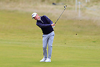 Justin harding (RSA) on the 4th fairway during Round 2 of the Alfred Dunhill Links Championship 2019 at Kingbarns Golf CLub, Fife, Scotland. 27/09/2019.<br /> Picture Thos Caffrey / Golffile.ie<br /> <br /> All photo usage must carry mandatory copyright credit (© Golffile | Thos Caffrey)