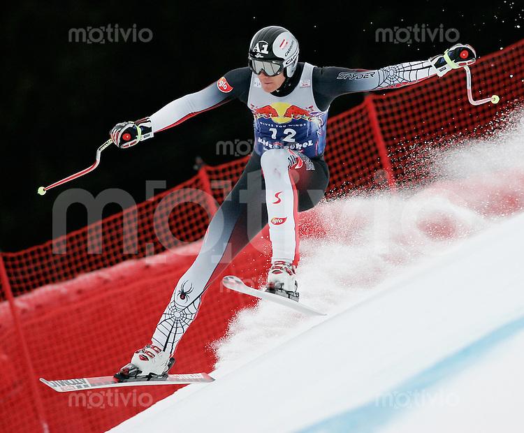 Ski Alpin; Saison 2004/2005 Abfahrt Herren Kitzbuehel 65. Hahnenkamm - Rennen Michael Walchhofer (AUT)