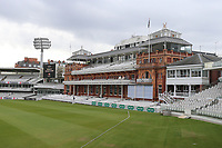 General view of the pavilion ahead of Middlesex CCC vs Essex CCC, Specsavers County Championship Division 1 Cricket at Lord's Cricket Ground on 24th April 2017