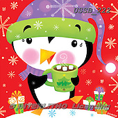 Sarah, CHRISTMAS ANIMALS, WEIHNACHTEN TIERE, NAVIDAD ANIMALES, paintings+++++PenguinCoco-12-A,USSB222,#xa# ,penguins