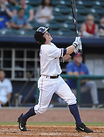 NWA Democrat-Gazette/ANDY SHUPE<br /> Northwest Arkansas Naturals Midland Rockhounds Wednesday, Aug 9, 2017, during the inning at Arvest Ballpark in Springdale. Visit nwadg.com/photos to see more photographs from the game